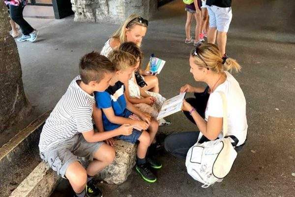 Kids tours of Rome - kids